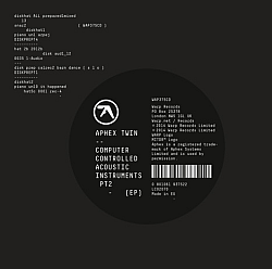 AphexTwin Computer Controlled