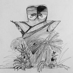 papillon - cercueil flottan (discrepant, 2019)